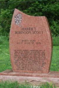 Harriett-Robinson-Scott-grave