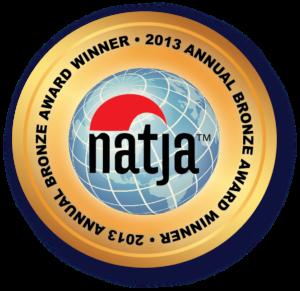 NATJA SEAL 2013-Bronze winner