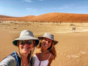 Namibia - Evie and Kellie - Deadvlei