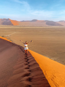 Namibia - atop Dune 45 - Kellie Paxian