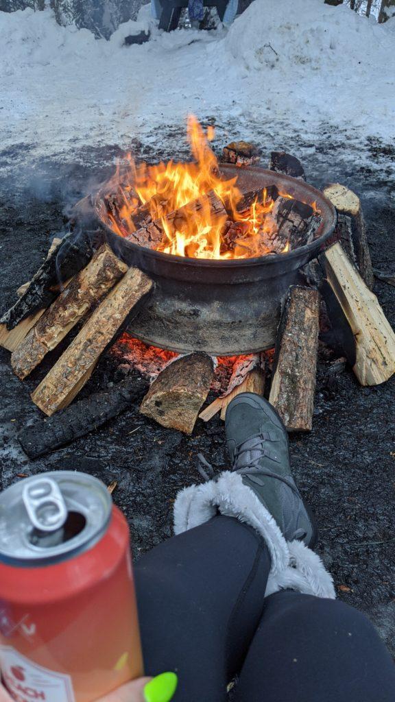 Dee Lake Fire Pit