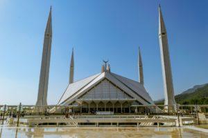 Pakistan mosque