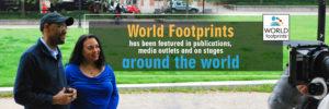 Ian and Tonya Fitzpatrick of World Footprints press page image