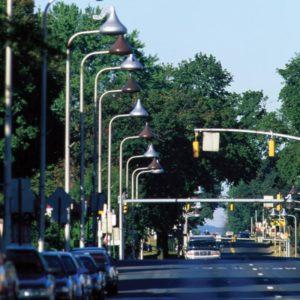 Hershey Kisses Streetlamps Photo Courtesy of Hershey