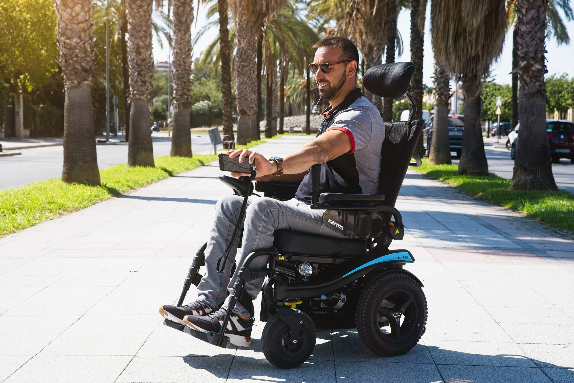 Traveling with a disability - Electric-wheelchair