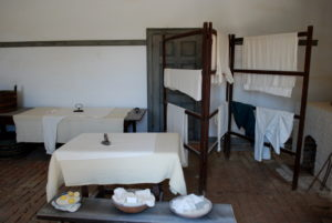 Clerk's quarters at Mount Vernon. Photo courtesy of WikiCommons