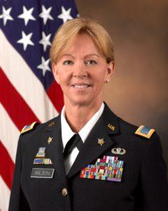 Phyllis Wilson Military Headshot
