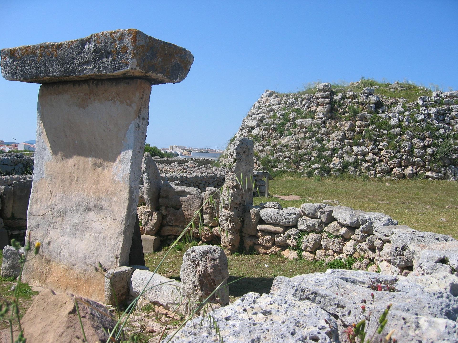 Ancient settlement In Menorca