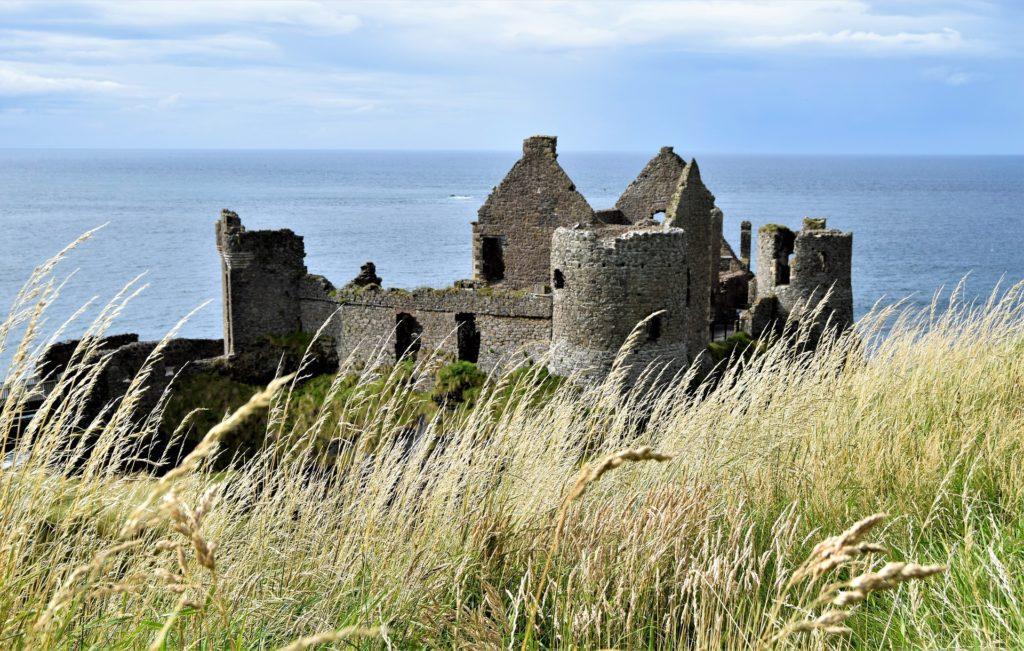 Old castle on the Irish coast