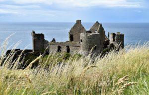 Ireland - Old castle on the Irish coast
