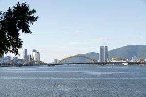 Dragon Bridge in Da Nang
