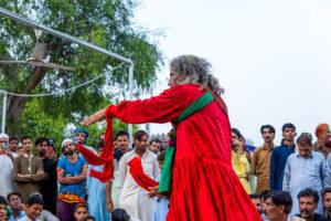 Dhamal at a Sufi Shrine. Photo: Samantha Shea