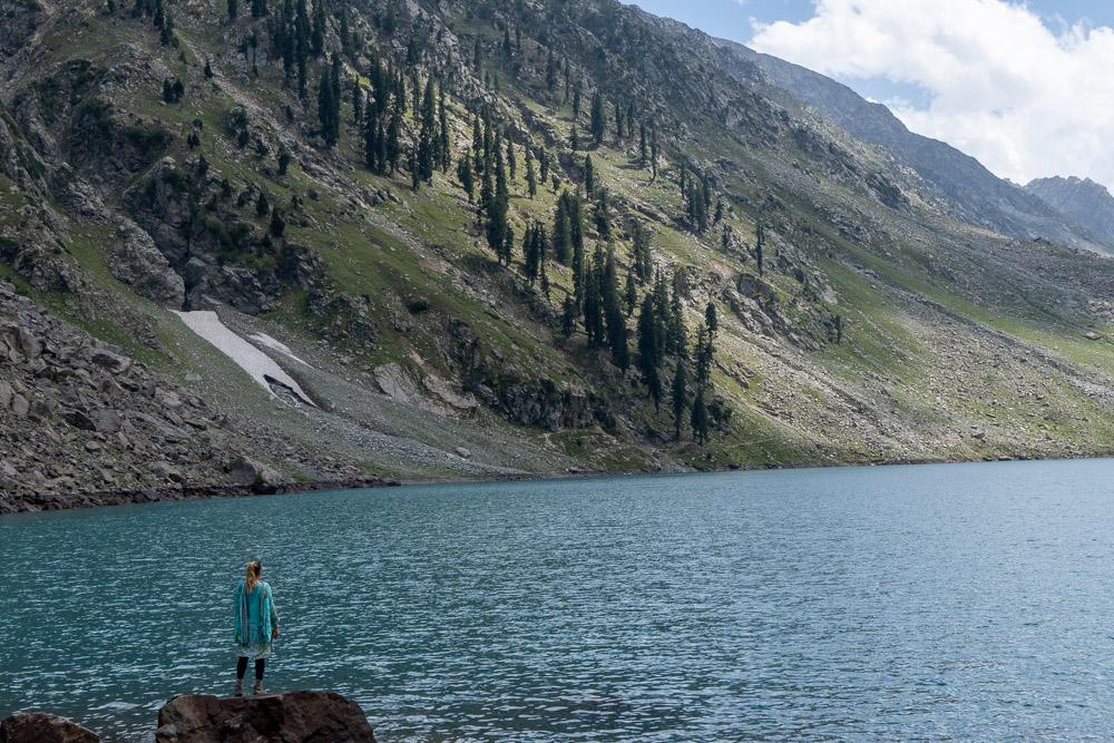 Pakistan - Author in Swat Valley