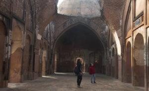 Inside Katra mosque