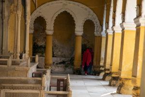 The derelict interiors of the Nasipur Rajbari