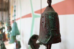 Arcosanti bronze wind bell