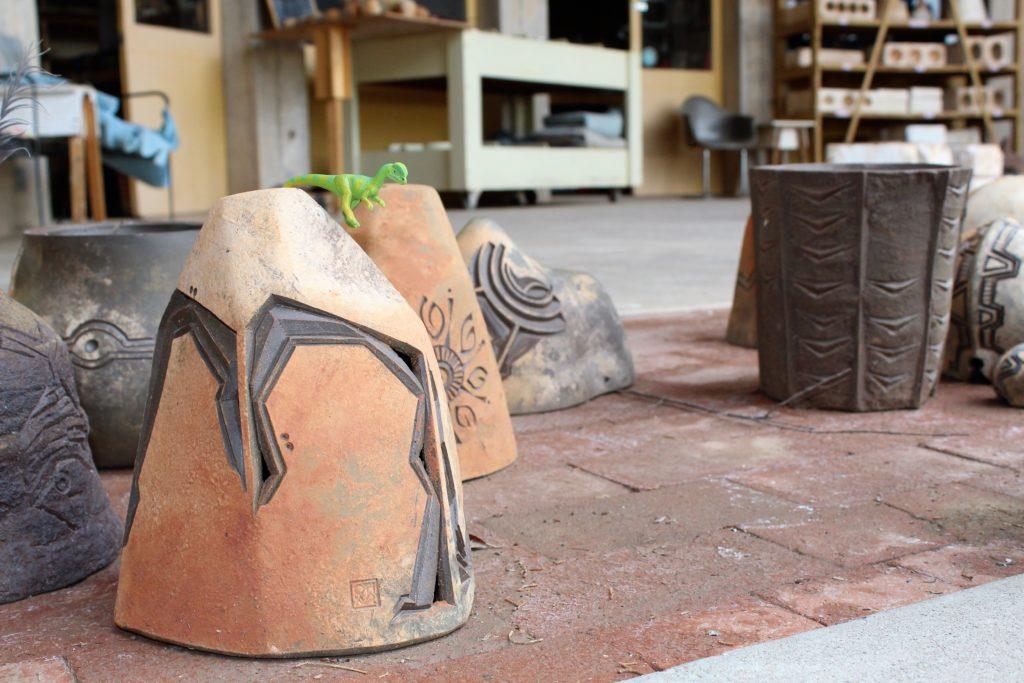 Arcosanti ceramic bells