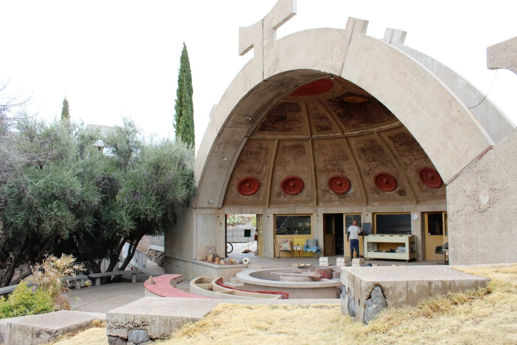 Arcosanti silt casting workshop