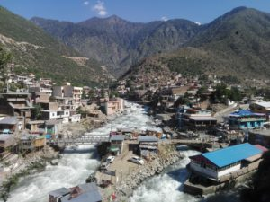 """Bahrain of Swat Valley, Pakistan.jpg"""" by Jawadqada is licensed under CC BY-SA 4.0"""