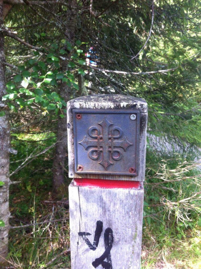 Friluftsliv Pilgram Marker on St Olvas Way