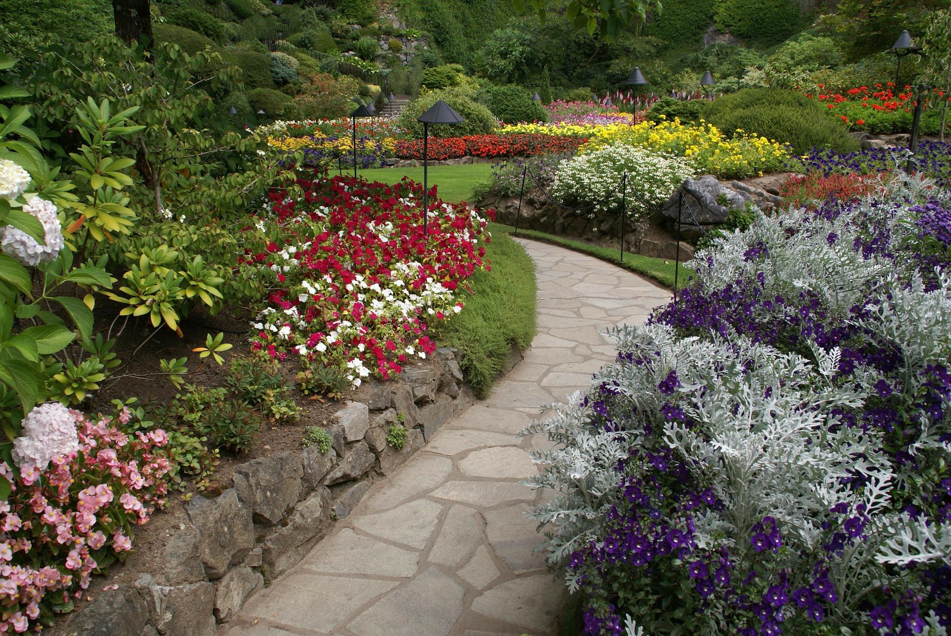 Butchart Gardens pathway