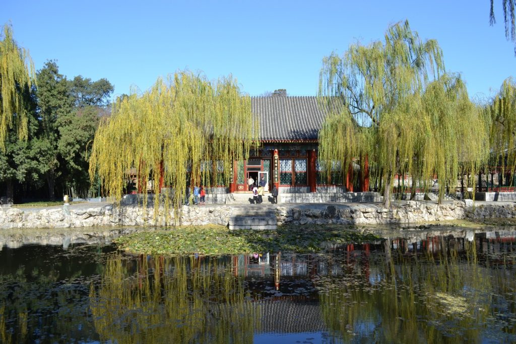 The Summer Palace in China