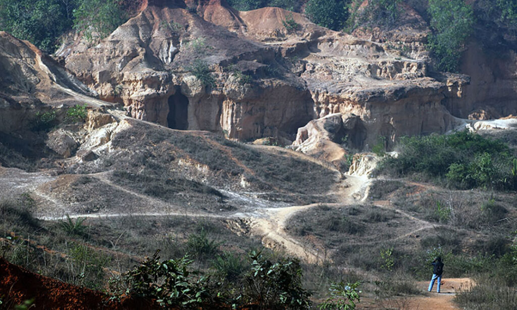 Bakasura's cave. Photo: Sugato Mukherjee