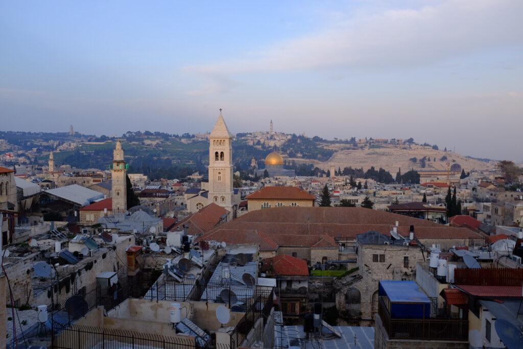 Looking into Jersalem