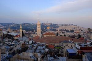Looking into Jersalem. Photo: Alicia-Rae Light