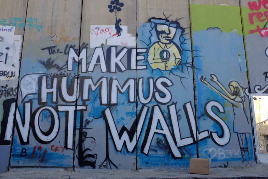 West Bank - Make Hummus not walls photo