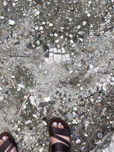 Palestine rubble