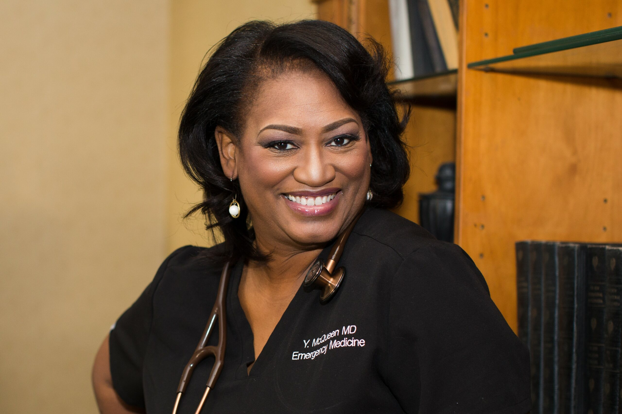 Dr. Yvette McQueen, the Travel Doctor & Global physician