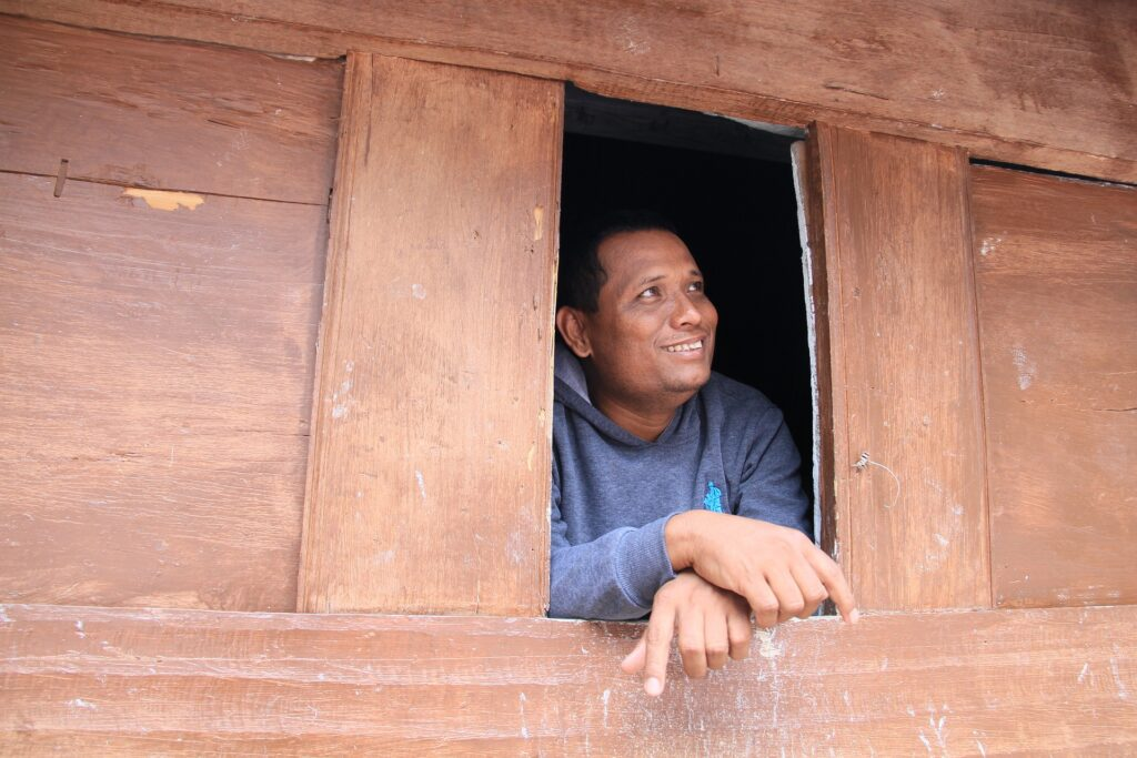 batak-man in Sumantra