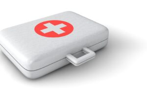 Medical luggage for travel doctor