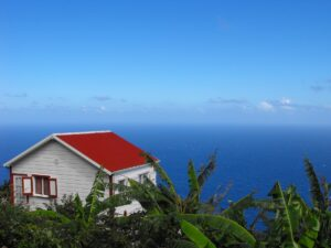 Zions Hill on Saba