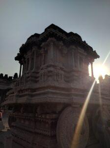 An iconic monument of Hampi. Photo: Deepika Akhshar