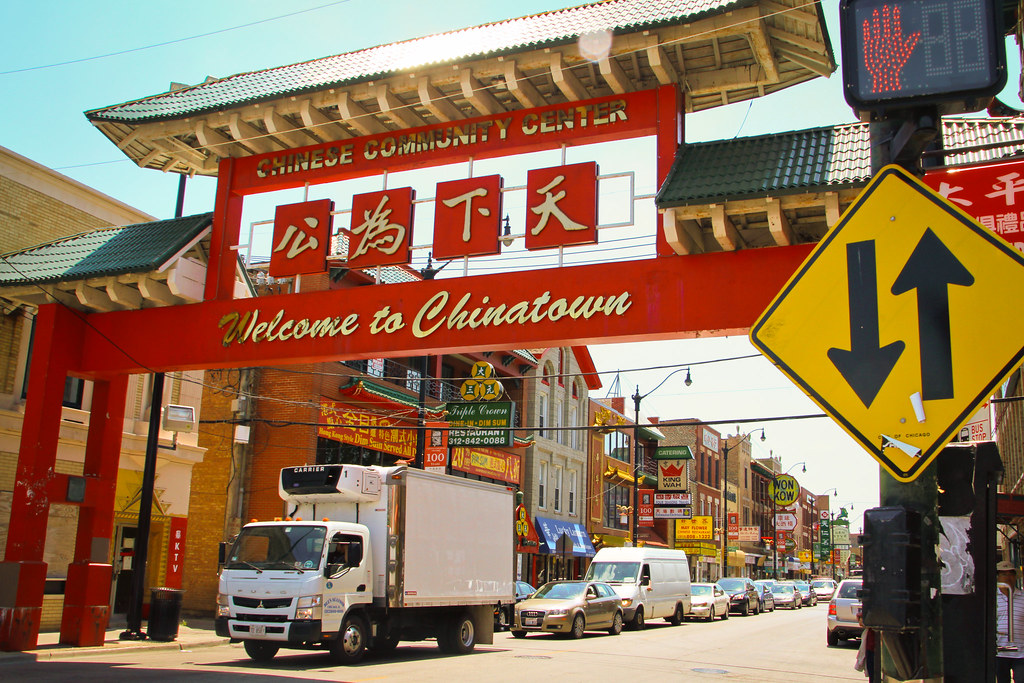"""""""Welcome to Chicago Chinatown"""" by pulaw is licensed under CC BY 2.0"""