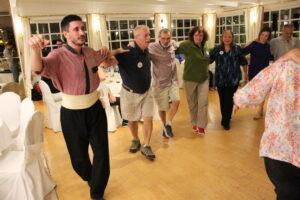 Dancing the night away. Photo: Jim Bamboulis