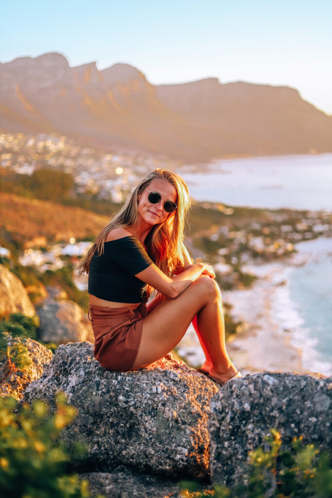 Travel - Golden hour happiness in Cape Town