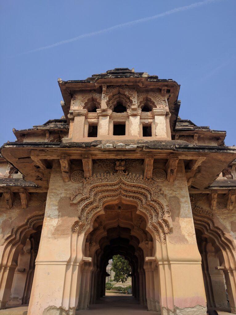 Lotus Mahal exterior. Photo: Deepika Akhshar