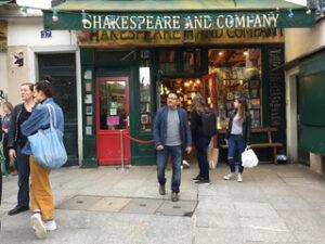 Shakespeare and Company photo by Bandita Mukherjee