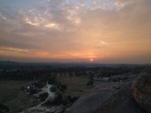 Sunset point. Photo: Deepika Akhshar