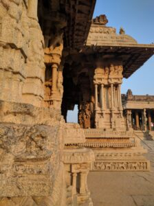 The splendid architecture of Vittala Temple. Photo: Deepika Akhshar