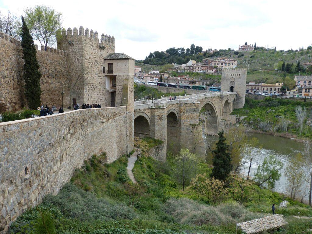 Roman architecture in the UNESCO World Heritage city of Toledo, Spain.