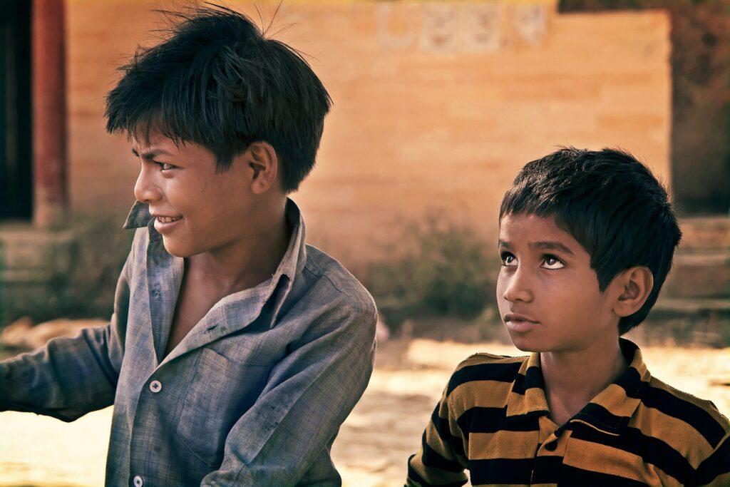 The Rainbow Nation - indian-children