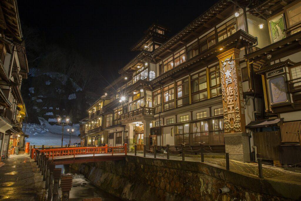 japan-hot spring inn