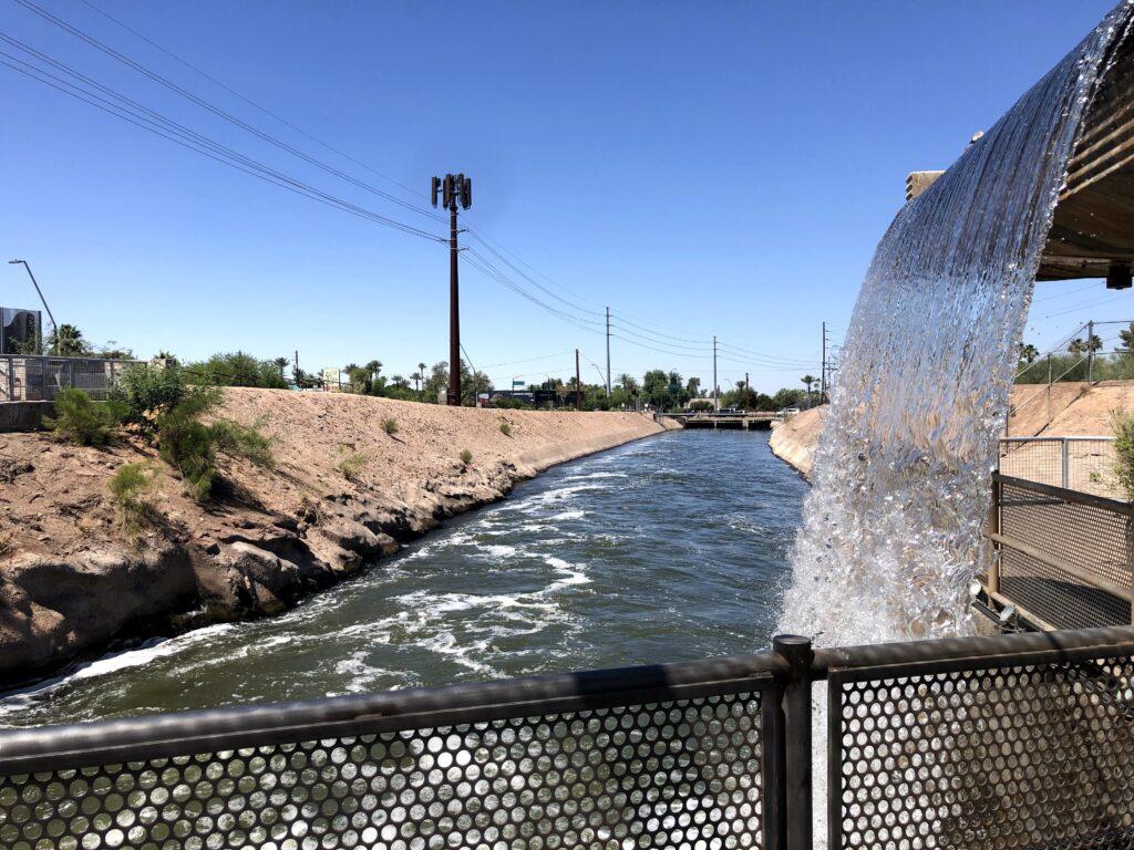The Arizona Canal. Photo: Breana Johnson