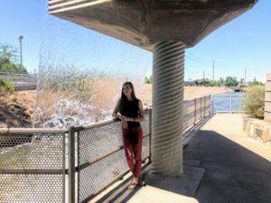 One of the Arizona Falls along the Arizona Canal. Photo: Breana Johnson