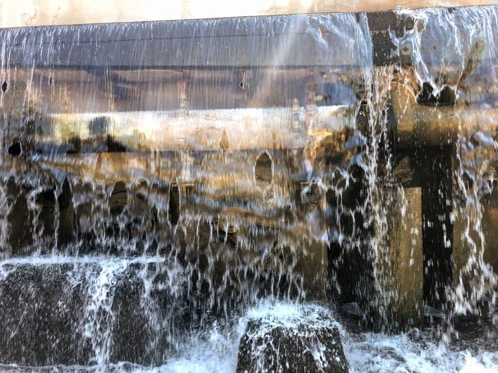 Original gears visible under the Arizona Falls. Photo: Breana Johnson