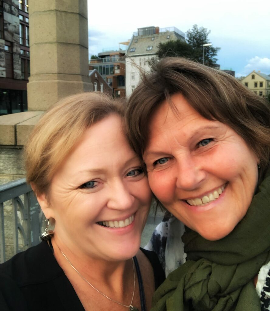 Travel and Friends in Trondheim with Lisbeth my Norwegian Sister. Photo: Terri Marshall